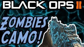 """NEW Black Ops 2 DLC - """"ZOMBIES CAMO"""" Gameplay! - AFTERLIFE Personalisation Pack (Afterlife Camo)"""
