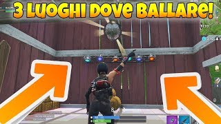 Le 3 Diverse Piste da Ballo di Fortnite Battle Royale