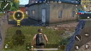 PUBG Mobile Melee weapons only. Chicken Dinner