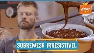 Mousse de chocolate: como fazer doce com azeite e flor de sal   Rodrigo Hilbert   Tempero de Família