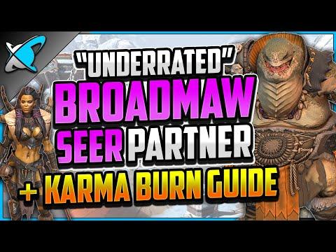 """UNDERRATED"" Broadmaw Build, Guide & Masteries | + SEER Karma Burn Guide !! | RAID: Shadow Legends"