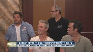 The Outsiders actors return to Tulsa for fundraising events