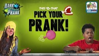 Rank The Prank: Pick Your Prank! Quiz Game (Nickelodeon Quiz)