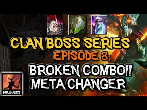 RAID: Shadow Legends | Clan Boss Series Episode 8: GAME CHANGING META DISCOVERY! DAMAGE MITIGATION!!