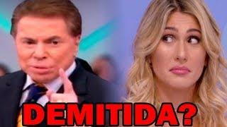 Silvio Santos TOMA ATITUDE Drástica, Após discussão de Lívia Andrade e Patrícia Abravanel