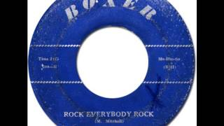 McKINLEY MITCHELL - Rock Everybody Rock [Boxer 204] 1959