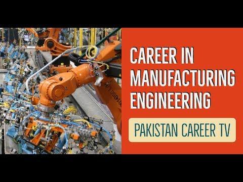 Career In Manufacturing Engineering