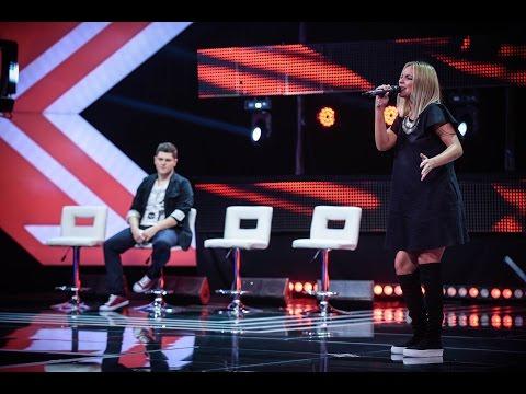 SMASH -They Just Keep Moving The Line. Vezi interpretarea Elizei Georgescu, la X Factor!