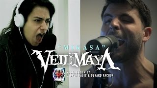 VEIL OF MAYA – Mikasa (Cover by Lauren Babic & Gerard Vachon)
