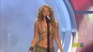 Shakira Ft Alejandro Sanz  La tortura   Live  MTV