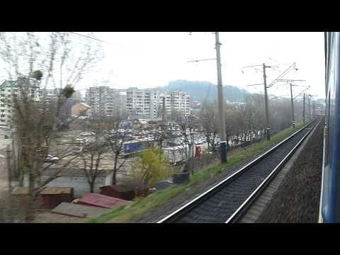 Ukraine Train No. 74 Lvov-Moscow поїзд 74 Львів, Україна – Москва, Росія