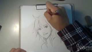 Desenhando uma Garota