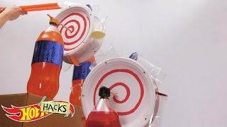 Cup Wheel Dispenser | Hot Hacks | Hot Wheels