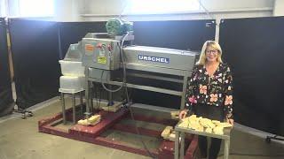 Urschel Belt-Fed Stainless Steel Cutter/Slicer Demonstration