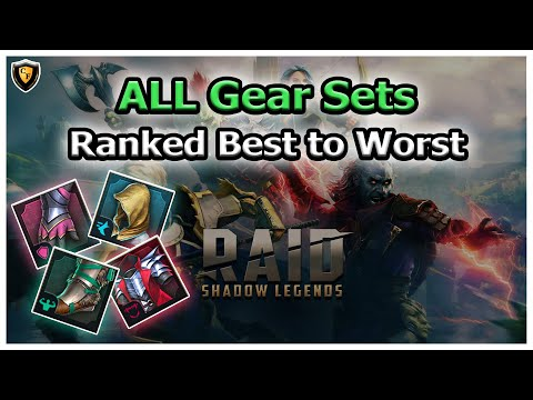 RAID Shadow Legends | ALL Sets Ranked Best to Worst