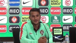 João Carvalho: Europeu, Benfica e mensagem para os Sub-20