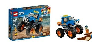 Quick Review: LEGO CITY 2018 winter sets, Monster Truck, set 60180