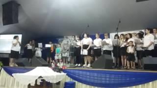 Iglesia suriel. Nuevo coro 2016