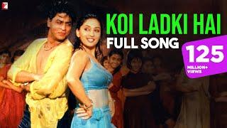 Koi Ladki Hai - Full Song | Dil To Pagal Hai | Shah Rukh Khan | Madhuri Dixit | Lata | Udit width=