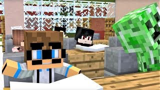 "Minecraft Song and Minecraft Animation ""Minecraft School"" Minecraft Song by Minecraft Jams"