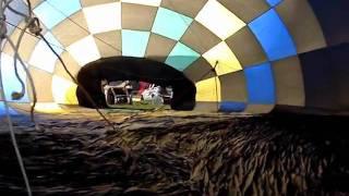 Balões colorem o céu de São Carlos