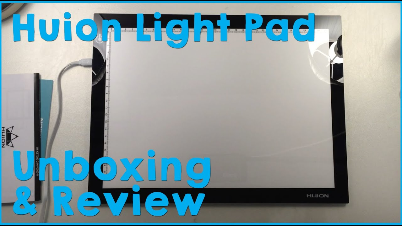 Light Pad Unboxing and Review Huion L4S