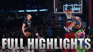 2016 NBA Dunk Contest ALL Zach LaVine & Aaron Gordon
