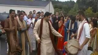 Raj and Kumar break it down at the Barat