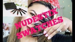 Nudestix Artist Box Swatches - ELLAsDaily