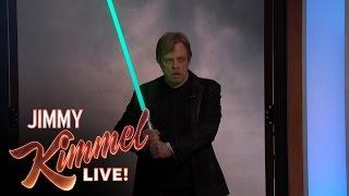 Star Wars Fan Adam Scott Surprised by His Idol Mark Hamill width=