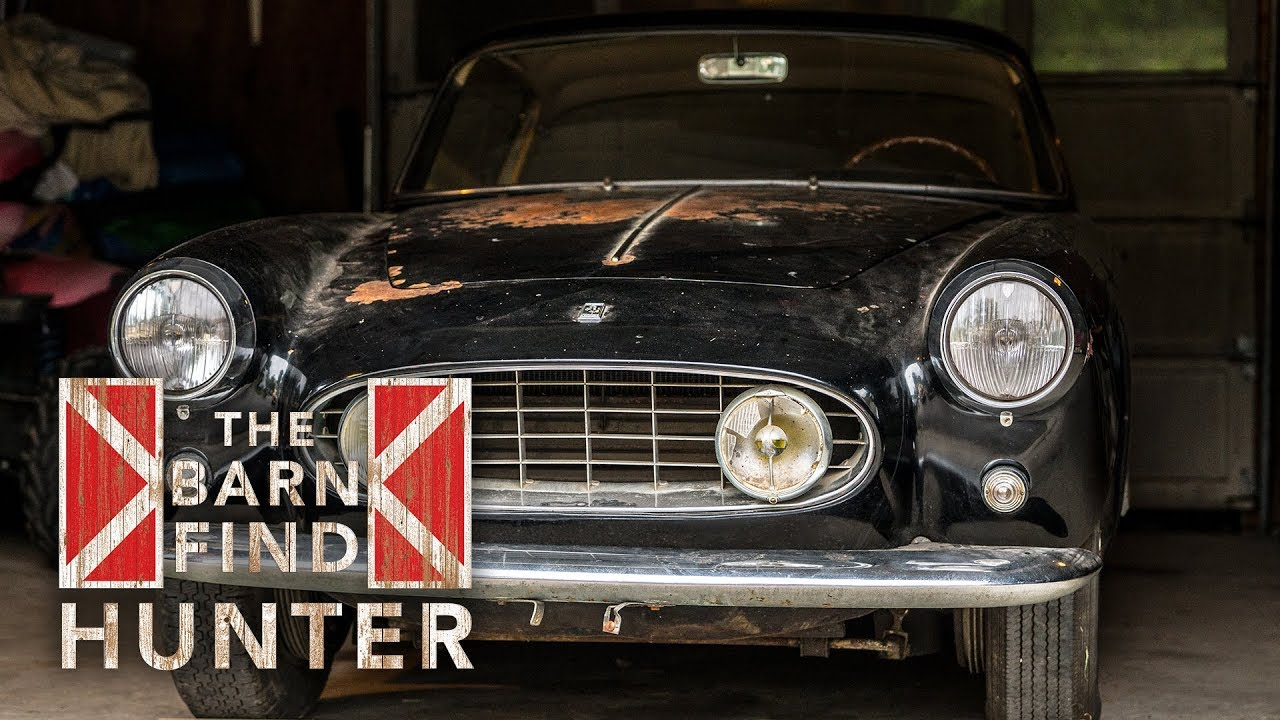 Barn Find Hunter: Rare, unrestored 1957 Ferrari 250 GT Ellena