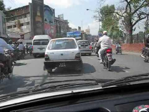 Kathmandu, Nepal – Taxi Ride and the streets of Kathmandu