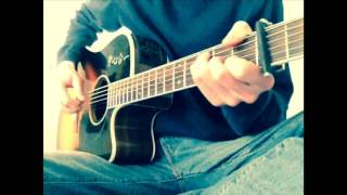 James Newton Howard - London ('Blood Diamond' theme) fingerstyle guitar