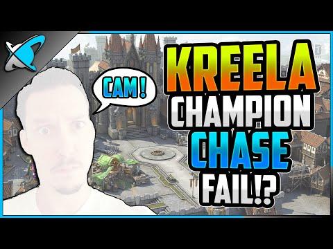 *FALSE ADVERTISEMENT ?* ... Kreela Champion Chase Tournament | Face Reveal !? | RAID: Shadow Legends