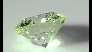 Natural Loose Diamond 1.06 carat Very Light Yellow Green VS2 Clarity Round GIA - ASTERIA DIAMONDS