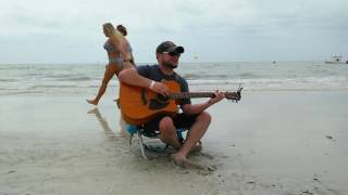Can't Hold Us by Macklemore Cover on the beach