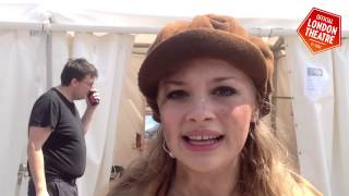 Carrie Hope Fletcher talks to Official London Theatre at West End LIVE 2014