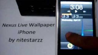 Nexus Live Lockscreen (REAL LIVE LOCKSCREEN FOR IPHONE)