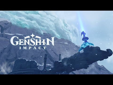 WTFF::: Check Out the Making of Genshin Impact\'s Beautiful Dragonspine Region