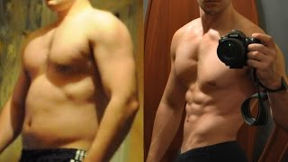 Трансформация тела. До и после. Минус 20 кг за 5 месяцев.