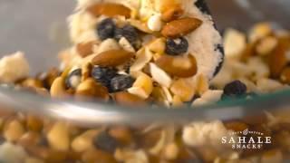 Lemon Bars with Sahale Snacks® Berry Macaroon Almond Mix