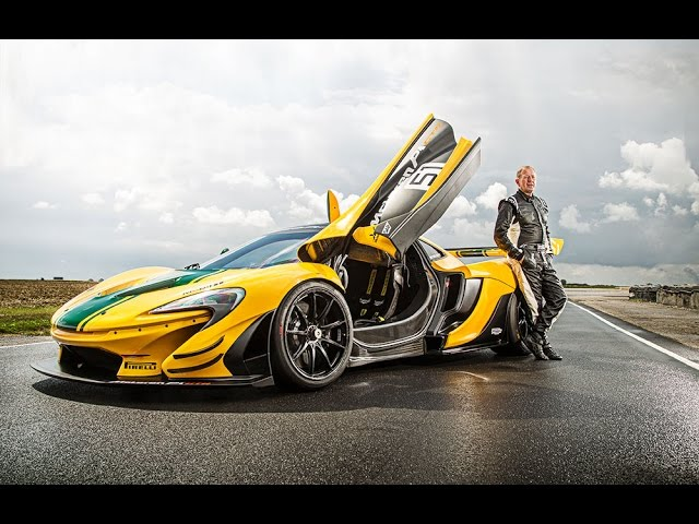 McLaren P1 GTR thrashed by Martin Brundle