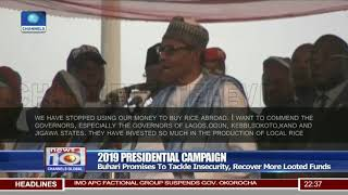 President Buhari Campaigns In Kaduna State