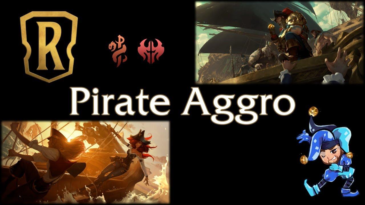 Jeff Hoogland - Pirate Aggro - Legends of Runeterra Deck - January 22nd, 2021