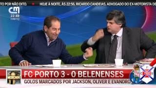 Barracada na CMTV (Pedro Guerra vs Otávio Machado)