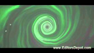 FREE Green Swirly 3D Intro Template: After Effects & Cinema 4D
