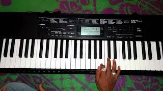 Sun soniye sun dildar rab se bhi jyada tujhe karte hai pyaar  Full song on keyboard by vaibhav pagar