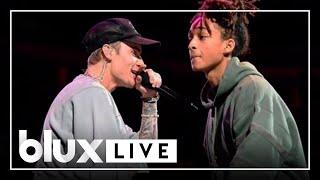 Justin Bieber - Never Say Never (Live ft. Jaden Smith)(2015)