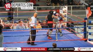 Juan Guerra vs. Alex Garza 152Lbs Chicago Golden Gloves