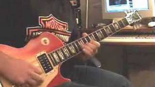 Led Zeppelin Rock and Roll-Guitar Solo-Live version(tsrts)